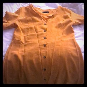 NWOT yellow SHEIN Dress